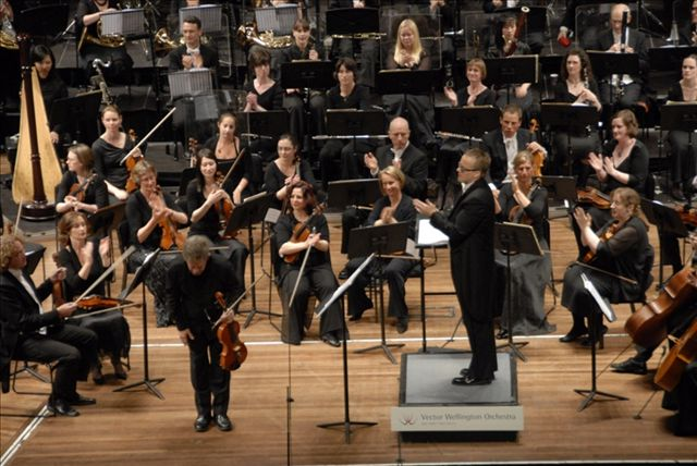 Donald Maurice (Viola) and Vector Wellington Orchestra, conductor – Marc Taddei